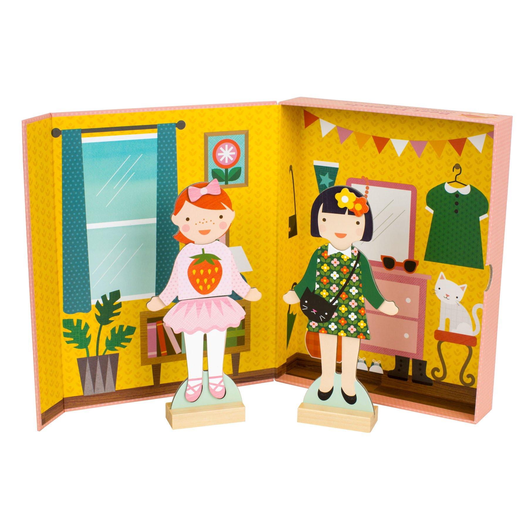 Petitcollage magnetické puzzle - Moderní dívky