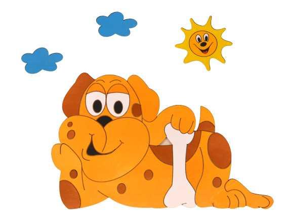Dětská lampička pes