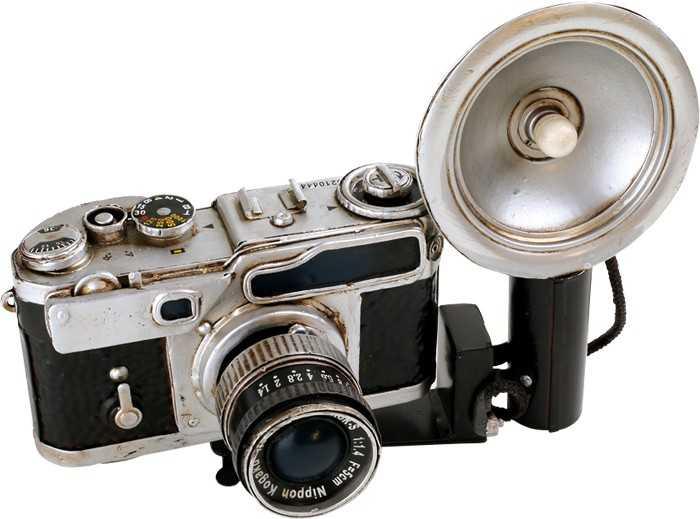Nikon Nikkor Kamera - dekorace Vintage