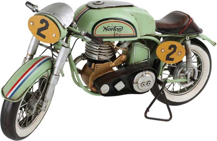 Motorka Vintage dekorace