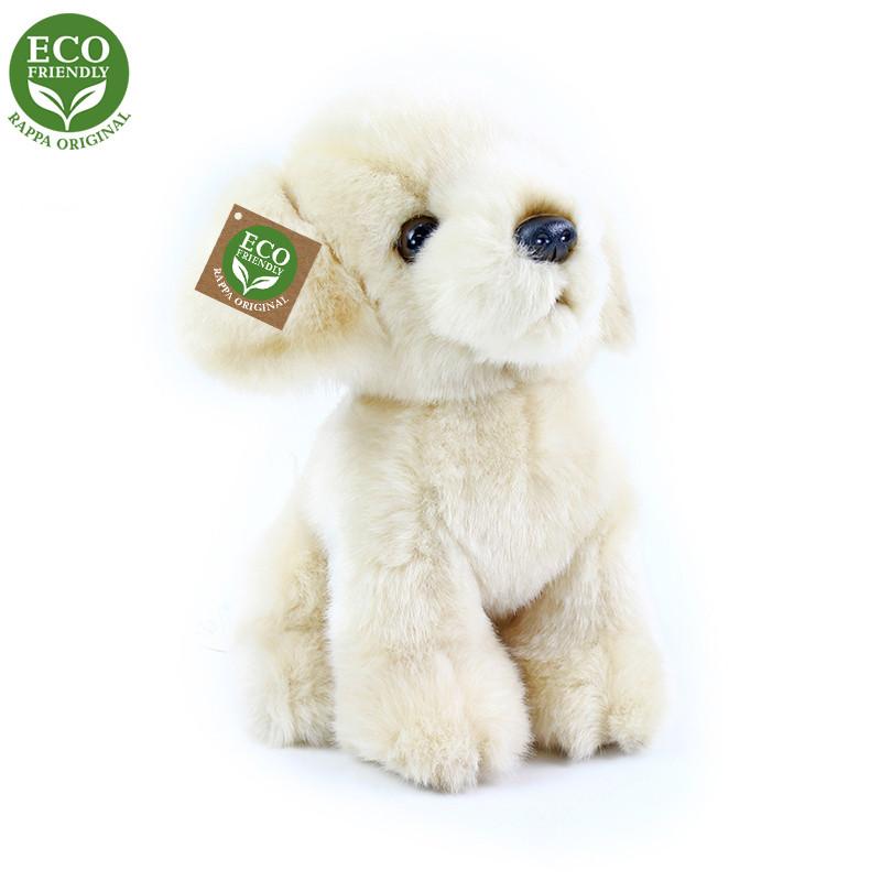 Rappa Plyšový pes labrador 18 cm ECO-FRIENDLY