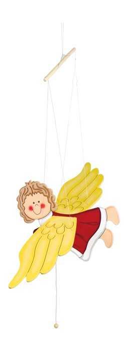 Small Foot Dřevěné dekorace - houpací anděl