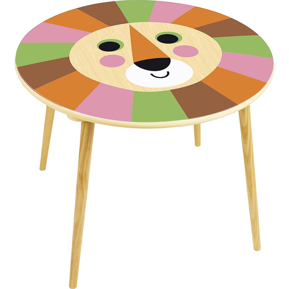 Vilac Dřevěný stoleček lev