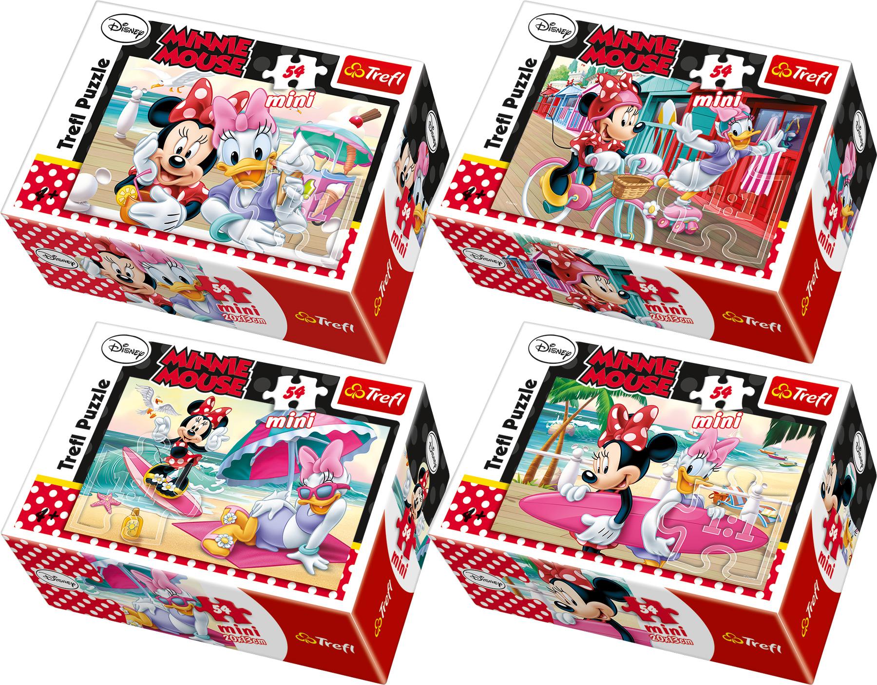 Displej Minnie Mouse mini puzzle 40 ks