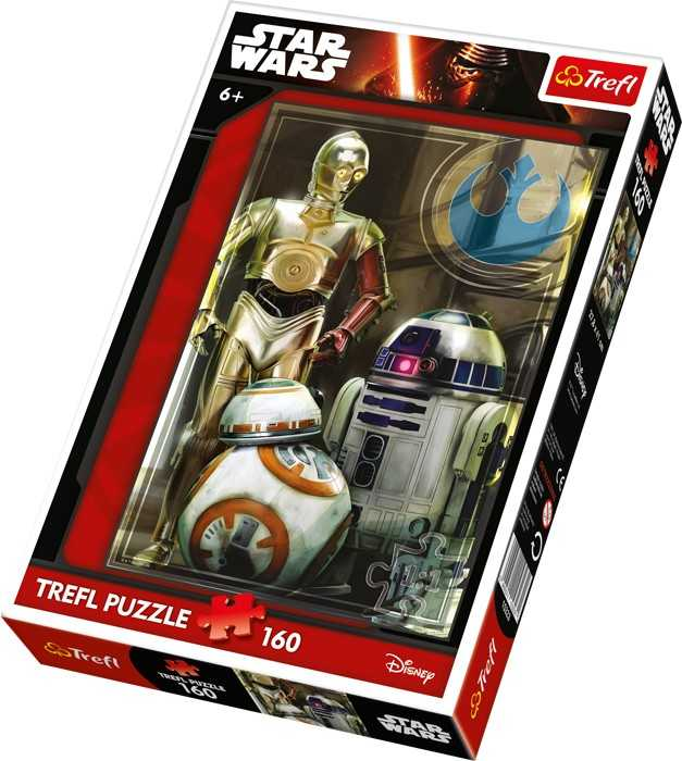 Papírové puzzle - Star Wars Droid