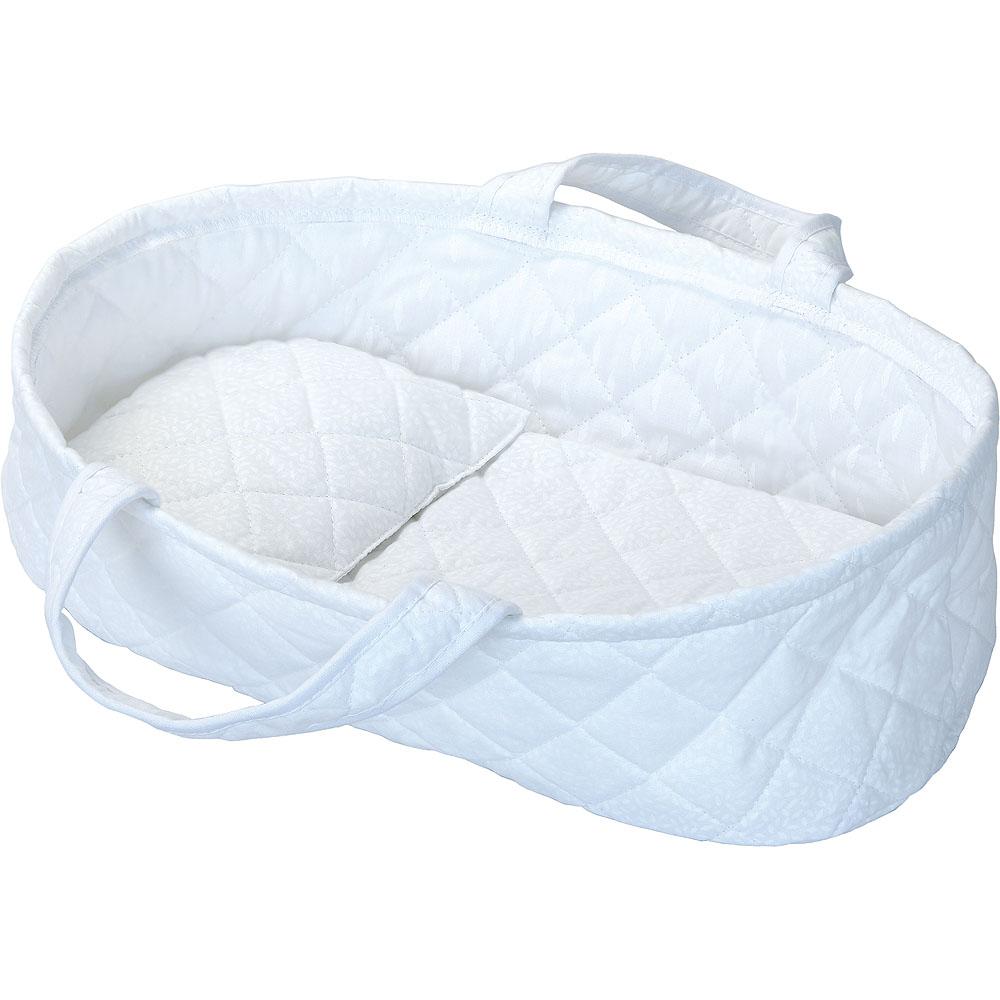 Petitcollin Přenosná taška bílá pro panenku do 36 cm