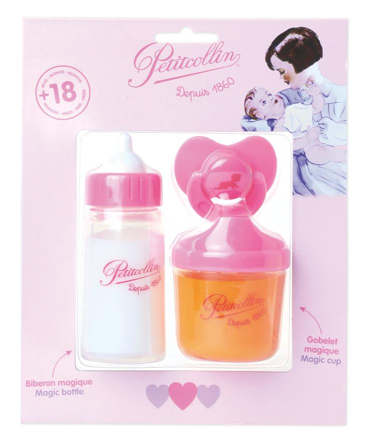 Petitcollin 2 Magické lahvičky a dudlík pro panenku