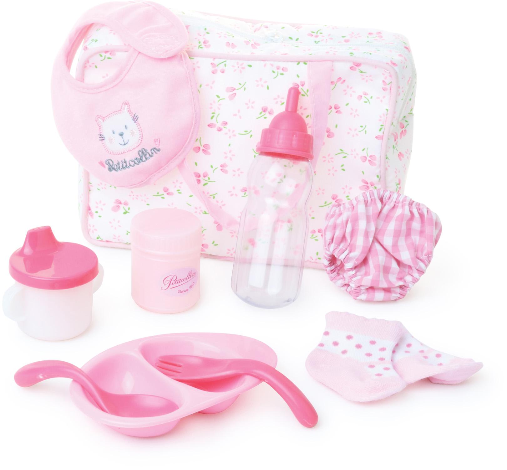 Petitcollin Baby cestovní sada pro panenku