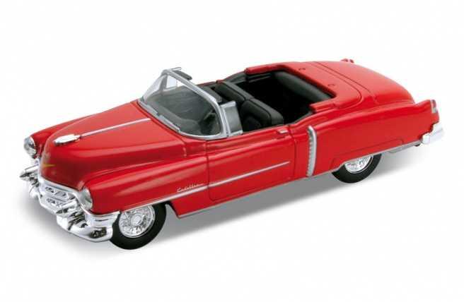 Welly - Cadillac Eldorado 53 1:34 červený