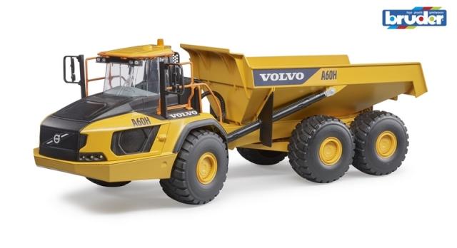 Bruder Kloubový Dumper Volvo A60H v měřítku 1:16