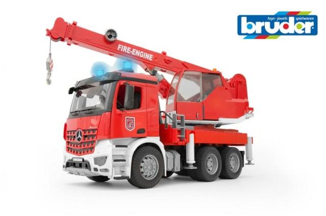 Bruder MB AROCS hasičský jeřáb