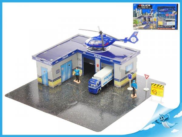 Skládací puzzle policejní stanice