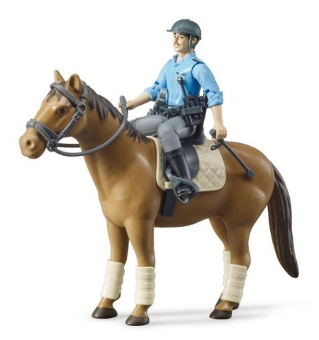 Bruder  BWORLD Policista na koni