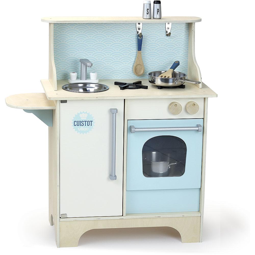 Vilac Dřevěná kuchyňka Cuistot modrá