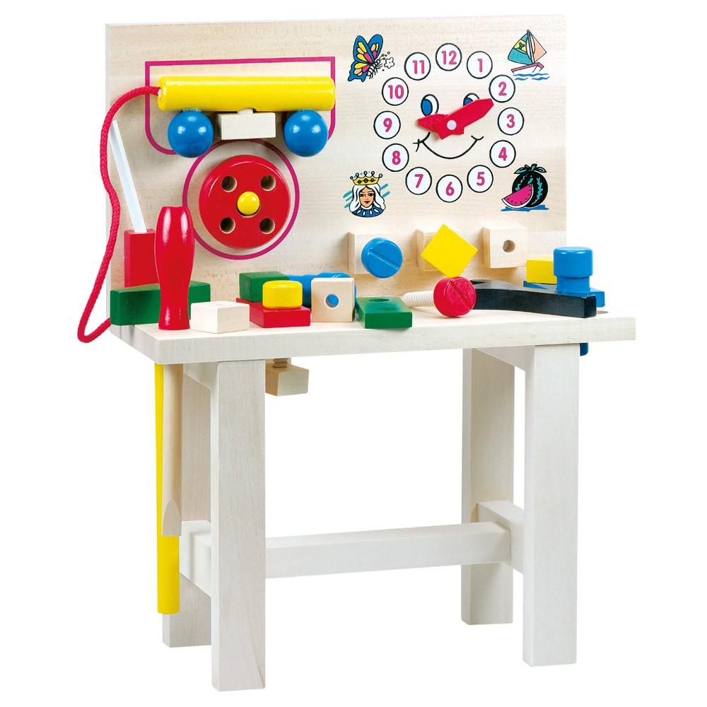 Bino Hračky pro kluky pracovní ponk s telefonem