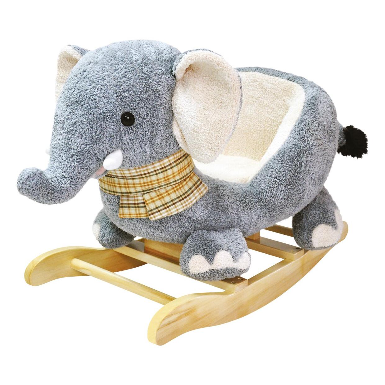 Bino Houpací plyšový slon