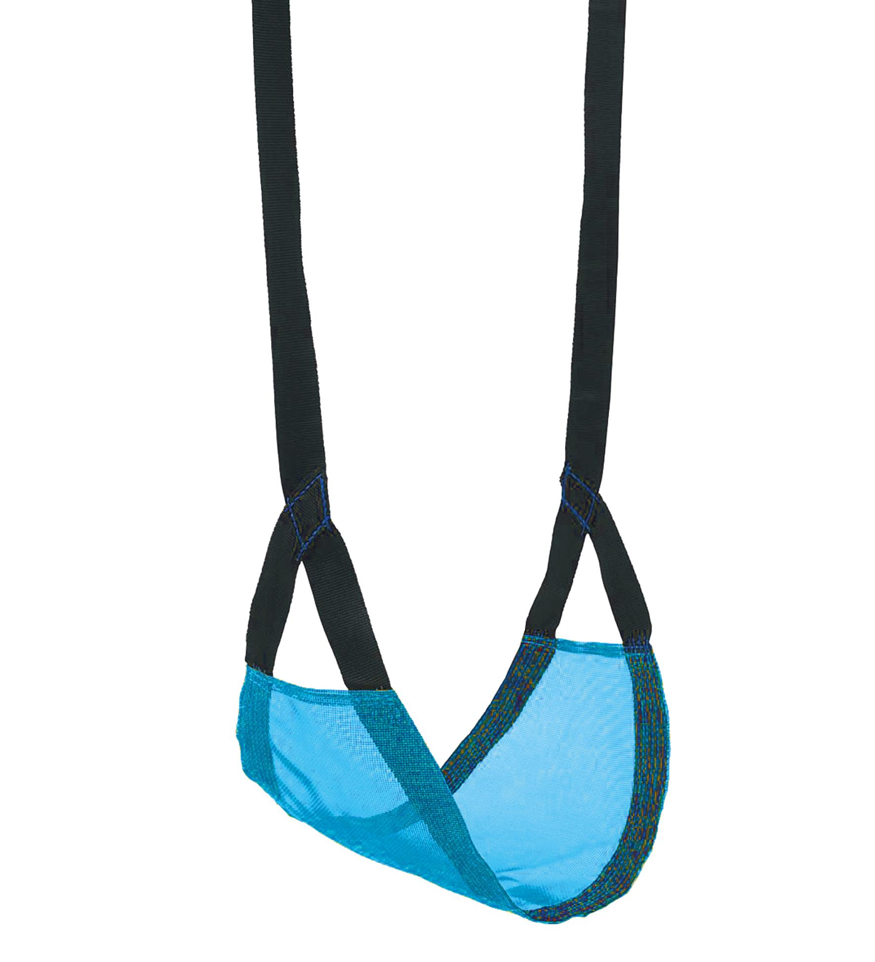 Bino Závěsná dětská houpačka modrá