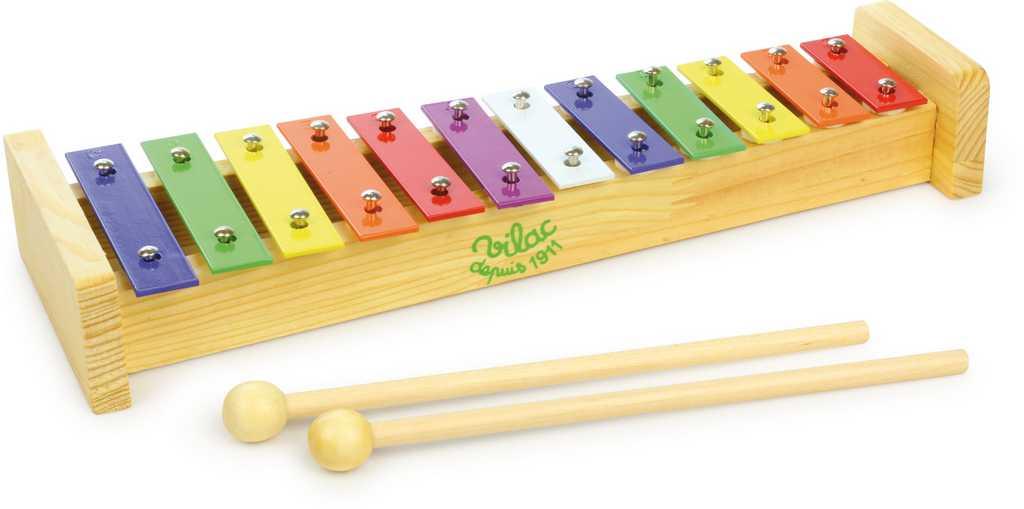 Vilac Kovový xylofon