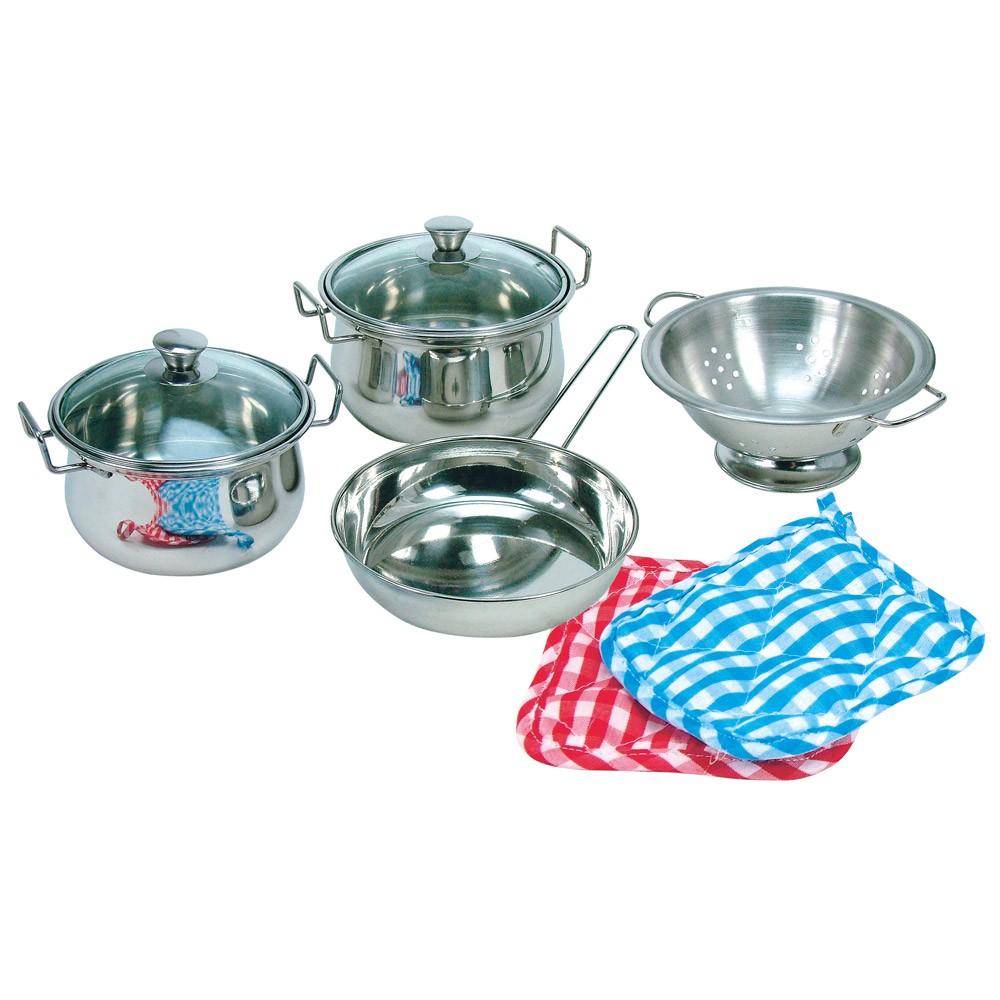 Bino Dětské nádobíčko sada nerezového nádobí