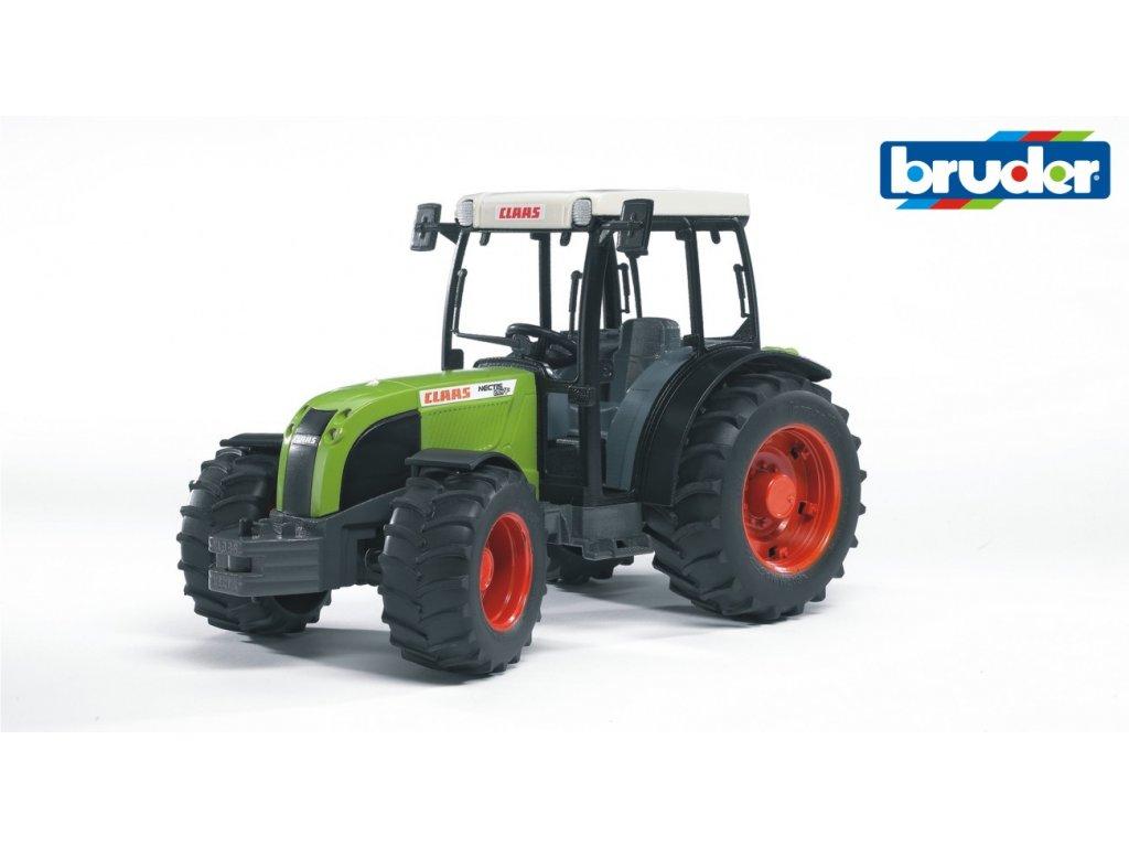 Bruder 2110- Traktor CLAAS Nectis 267 F zelený