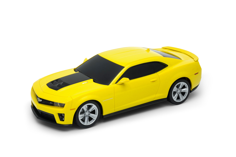 Welly - Chevrolet Camaro ZL1 model RC 1:24 žlutý