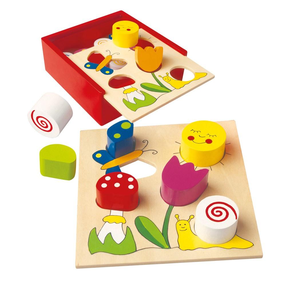 Bino Moje první puzzle Bella Florina