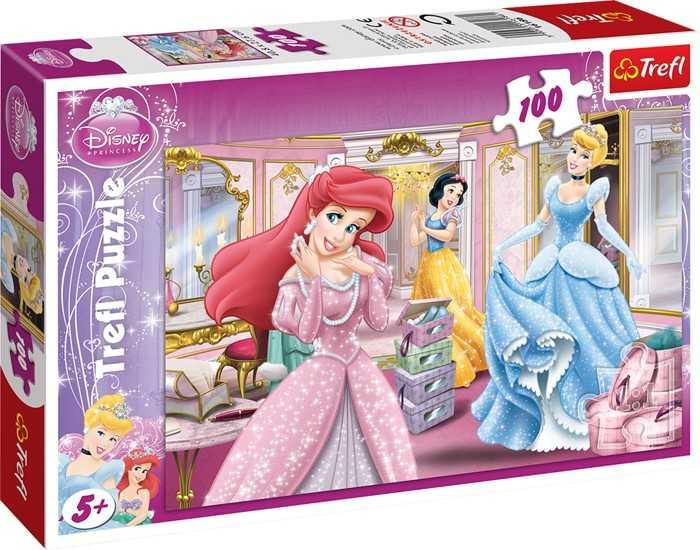 Puzzle 100 dílů Diseny Princezny
