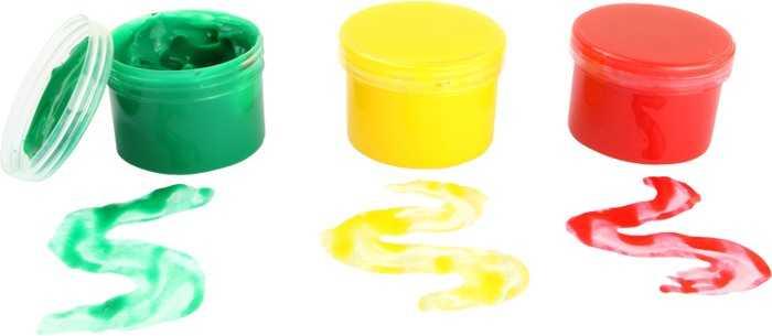 Barvy pro malování prsty