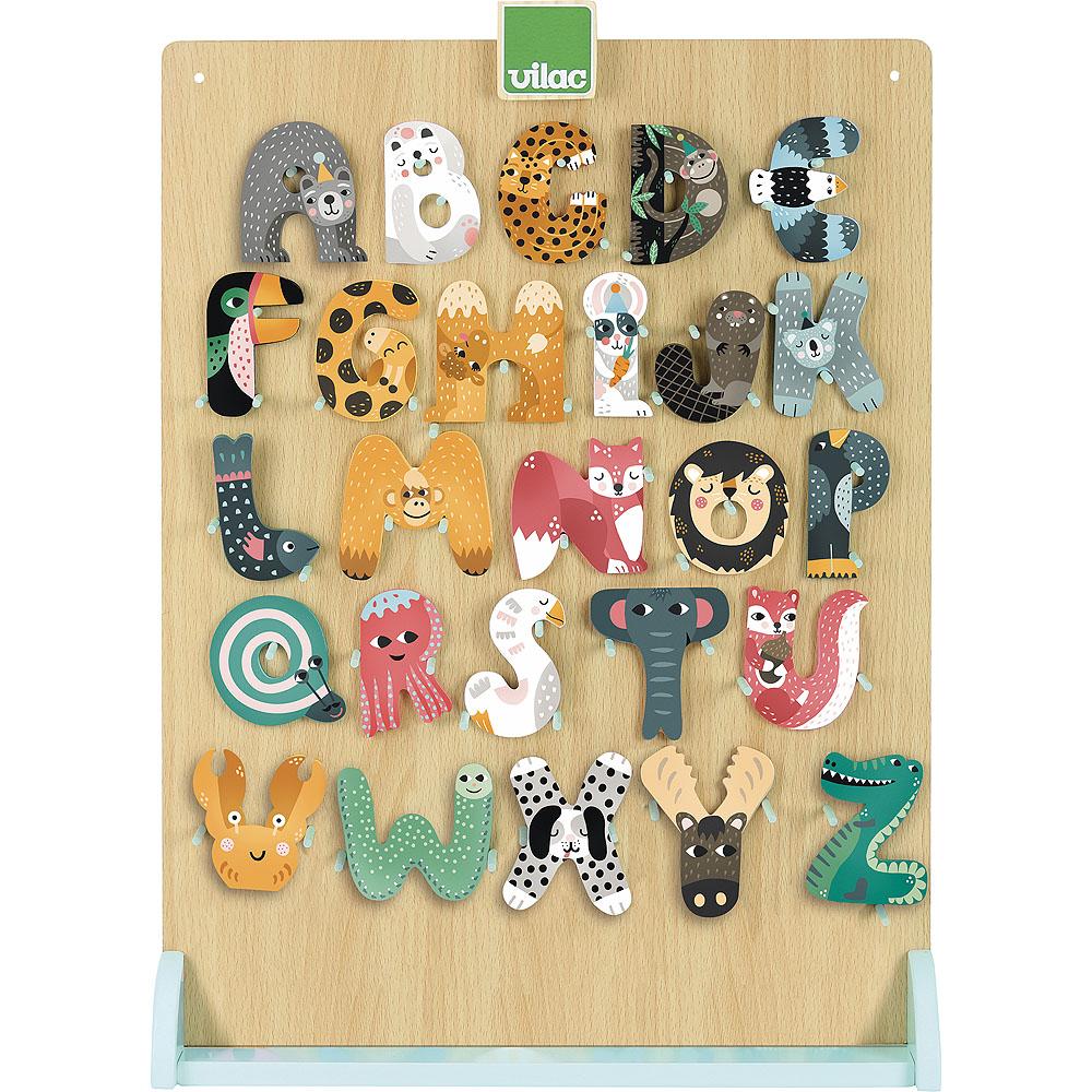Vilac Displej zvířátková abeceda