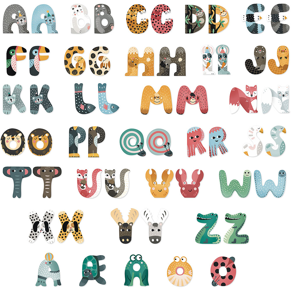 Vilac Zvířátková abeceda 1ks