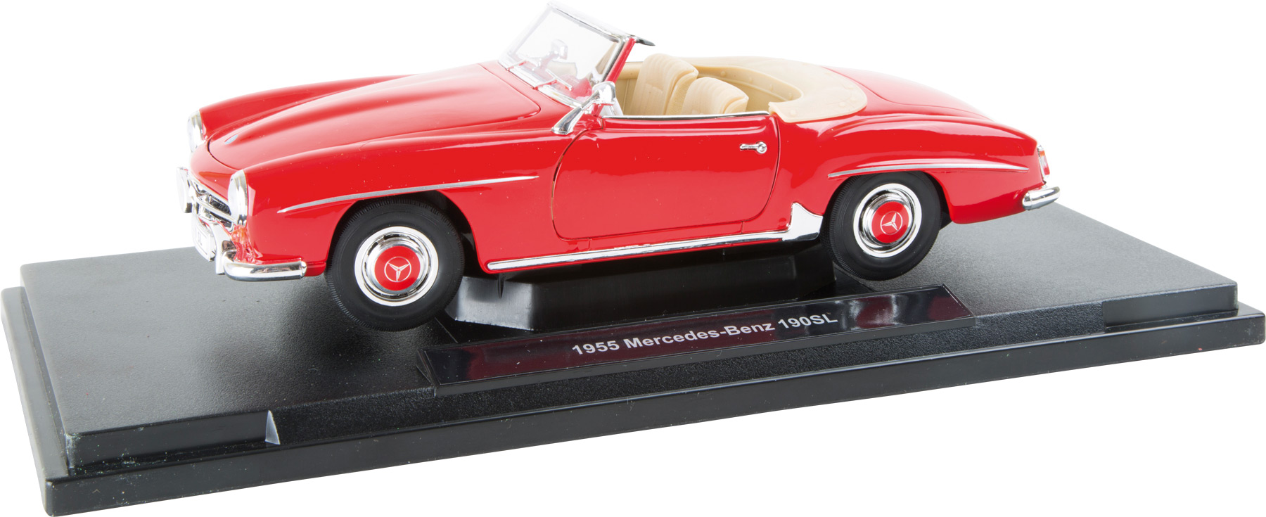 Small Foot Mercedes-Benz 190 SL (1955) model 1:18 červený