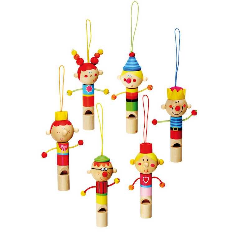 Bino Hudební nástroje dřevěná píšťalka
