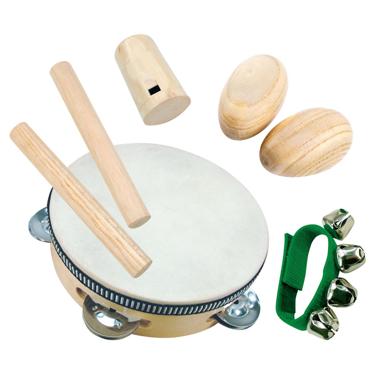 Bino Hudební nástroje mini orchestr 8 dílů
