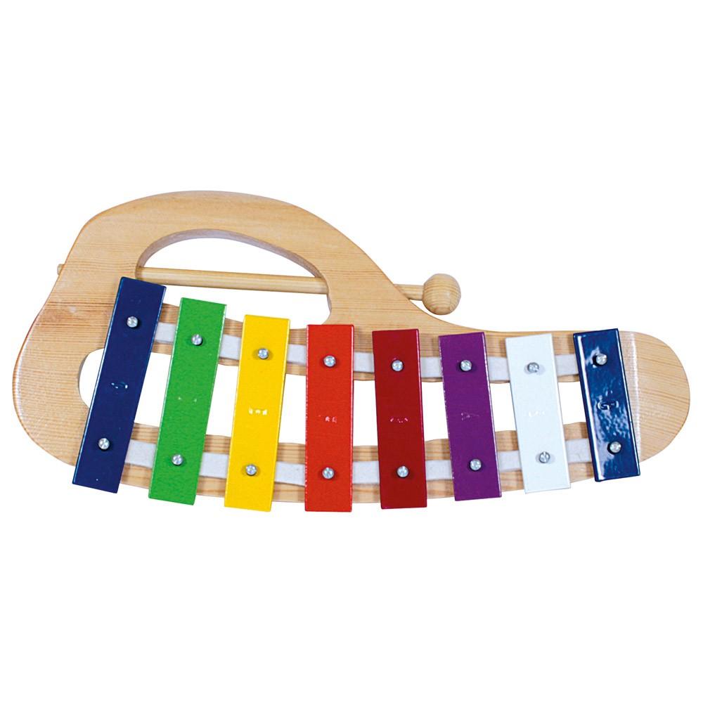 Bino Xylofon kovový obloukový