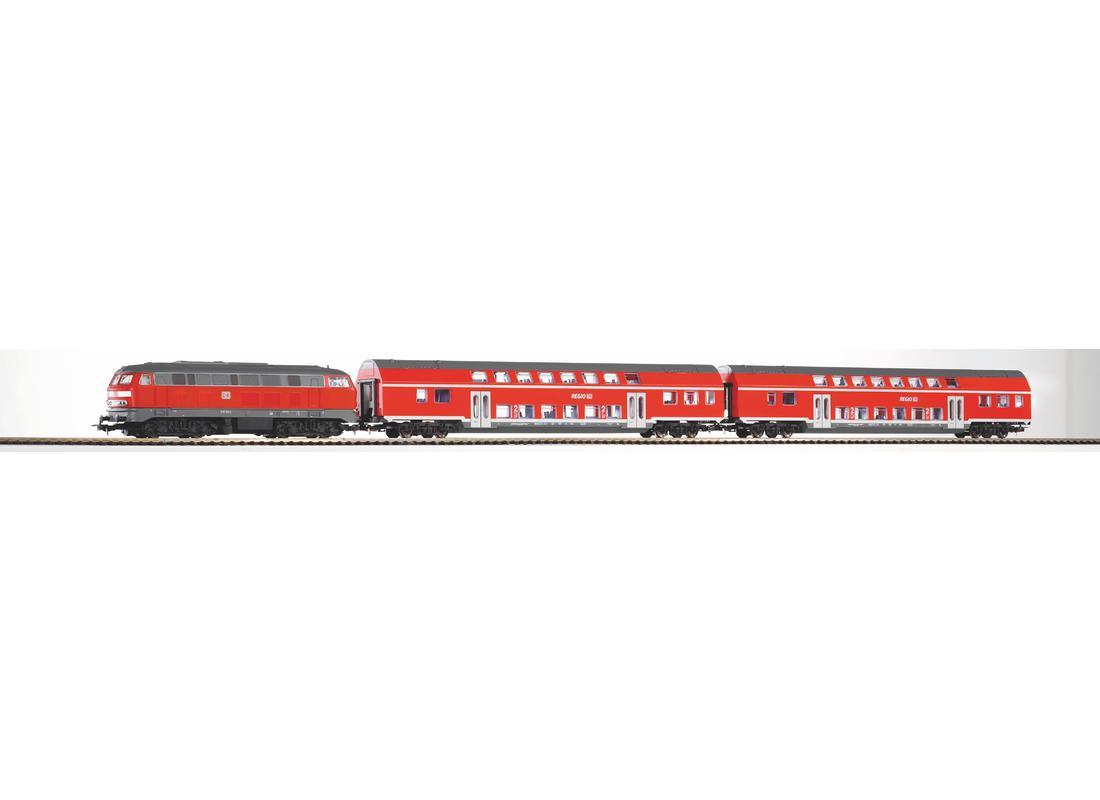 Piko Startovací sada Osobní vlak s dvoupodlažními vagóny Regio VI- 57150