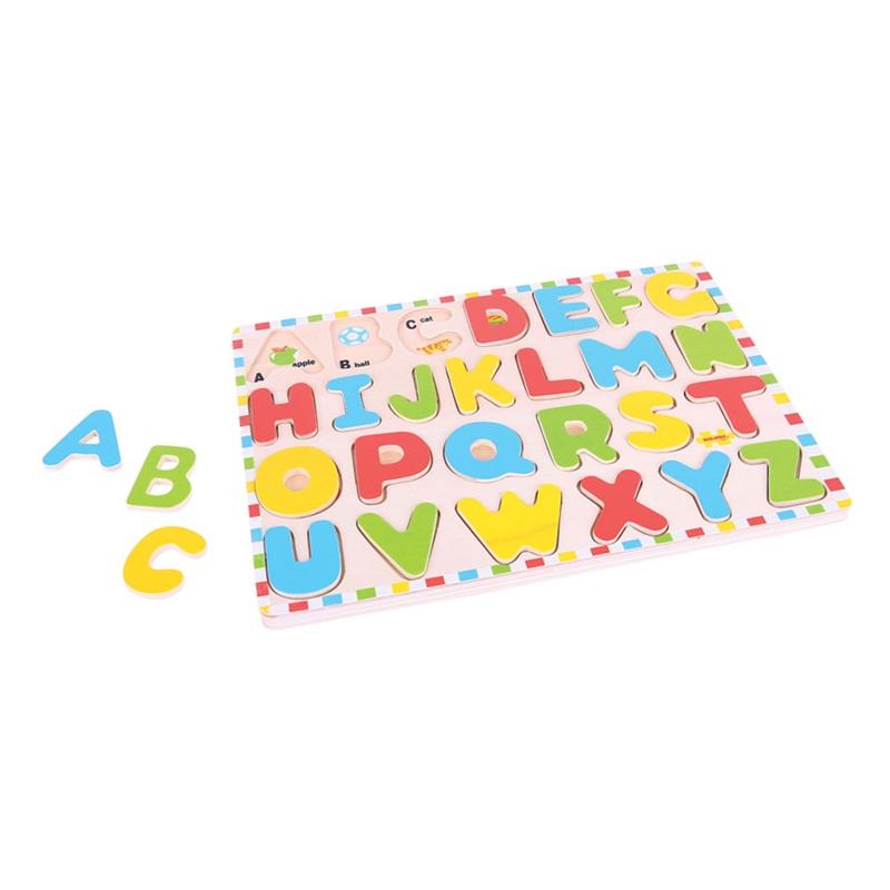 Bigjigs Toys Anglická abeceda s obrázky