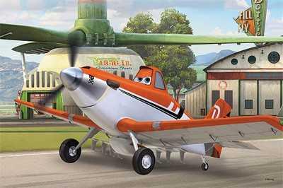 Papírové puzzle Letadla - Puzzle 2v1