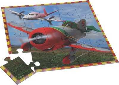 Papírové puzzle Letadla - Puzzle 3v1
