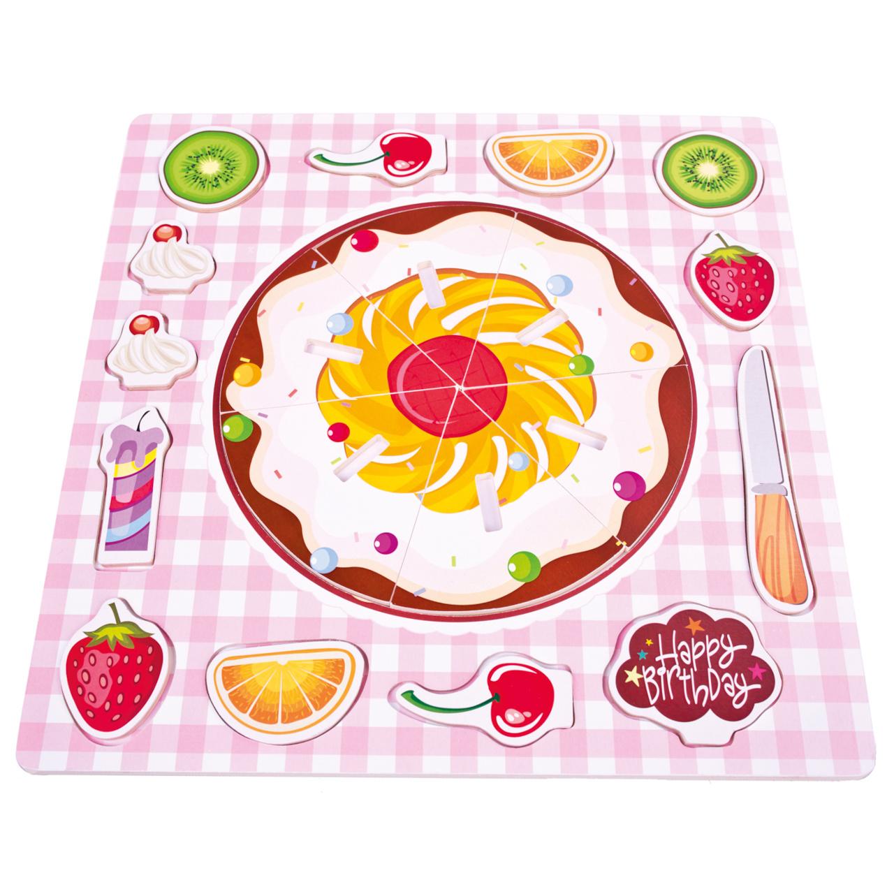 Bino Puzzle narozeninový dort