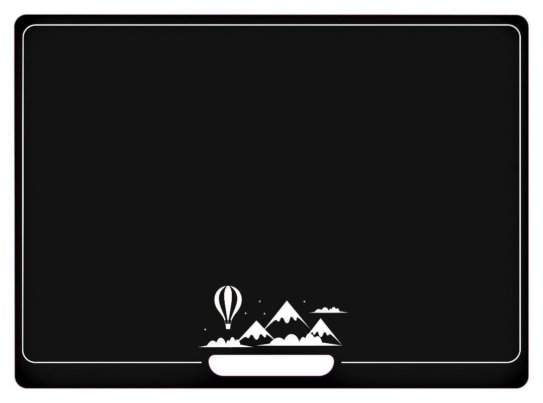 Jeujura Oboustraná tabule s balónem