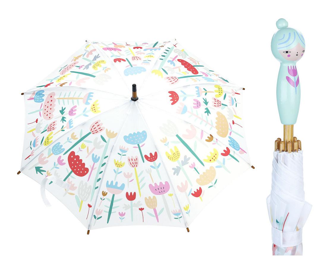 Vilac Deštník květinový Suzy Ultman modrý