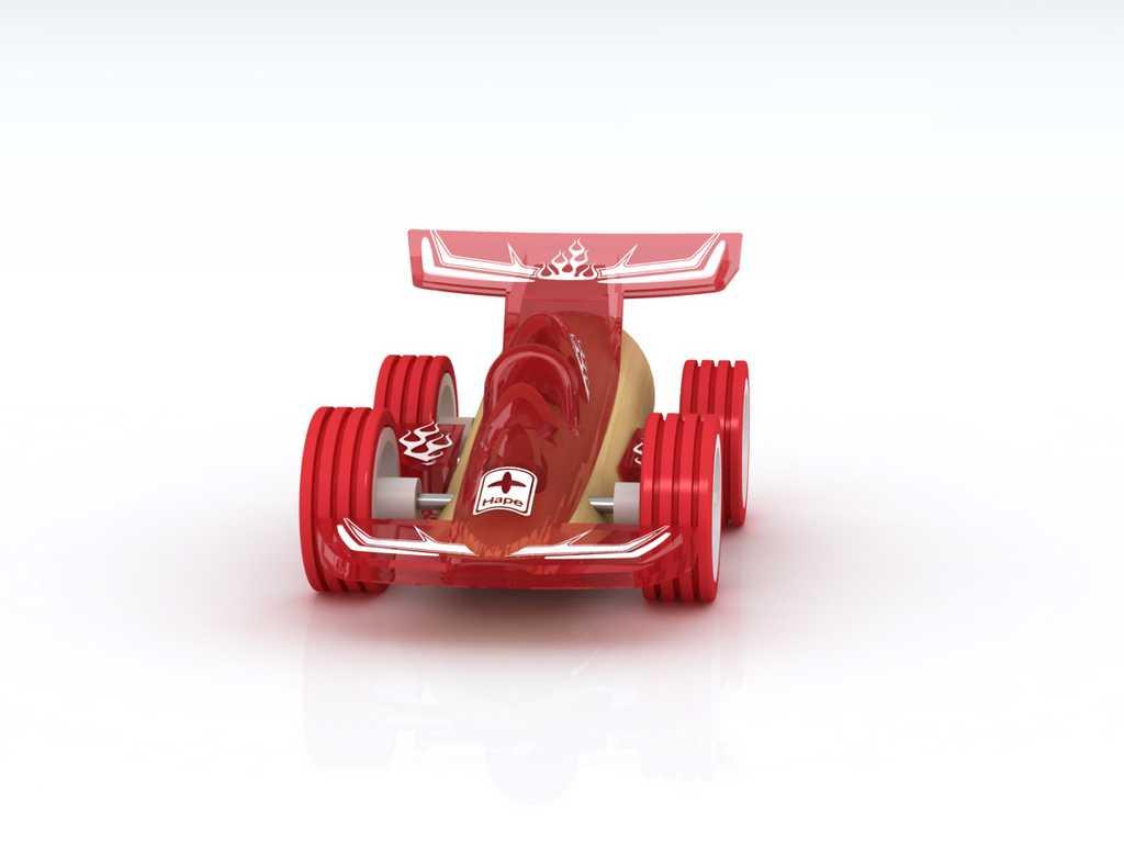 Hape Závoďák Mini Racer