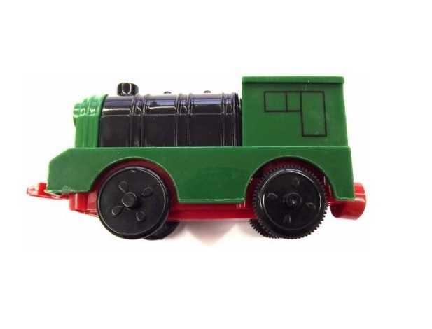 Woody - Elektrická mašinka zelená