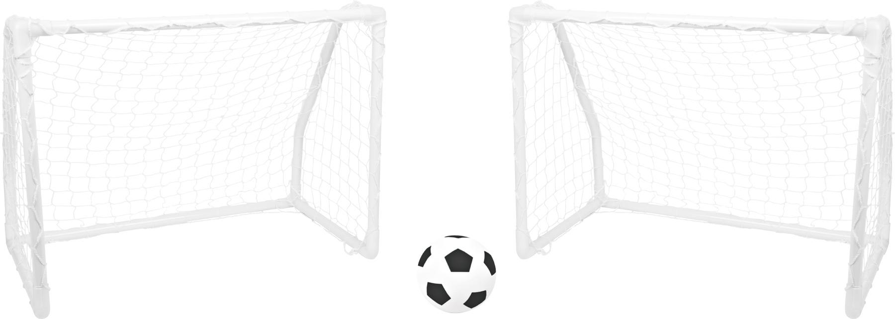 Small Foot Kovové fotbalové branky s míčem