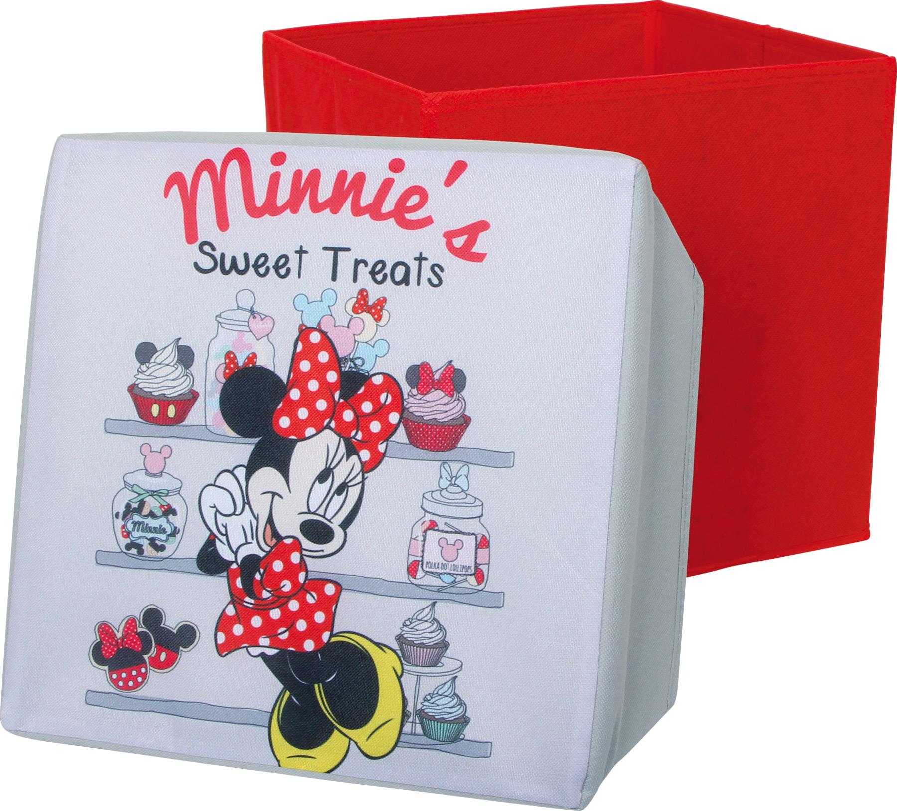 Small Foot Sedací úložný box Minnie Mouse