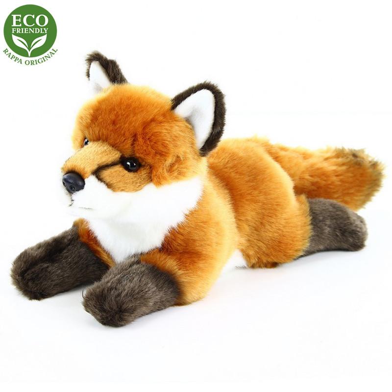 Rappa Plyšová liška ležící 23 cm ECO-FRIENDLY