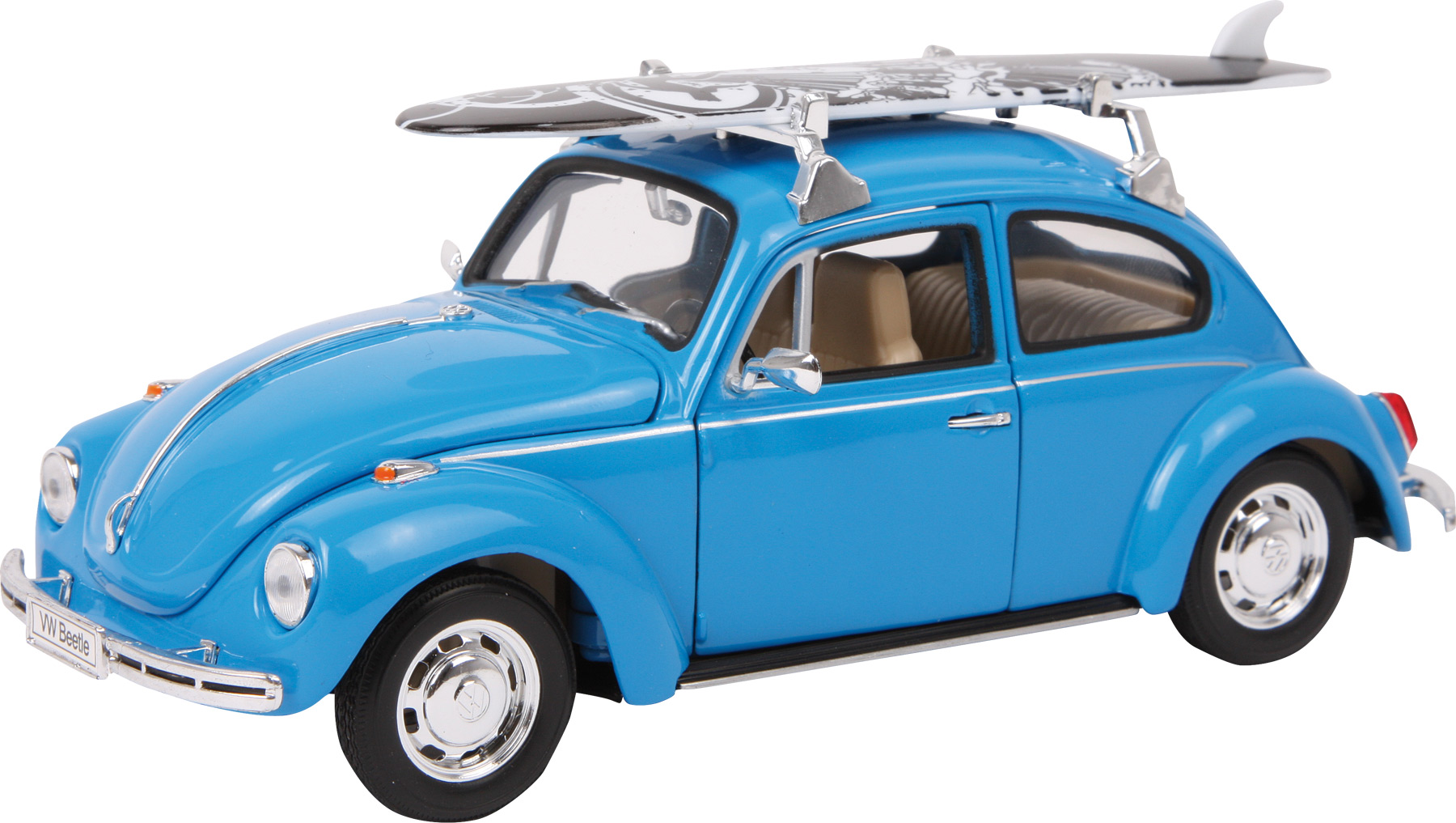 Small Foot Model auta VW Beetle se surfem