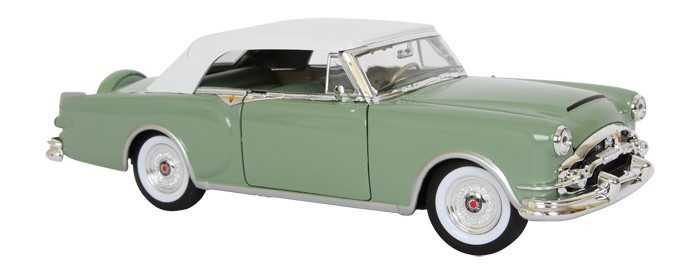 Welly - Packard Caribbean 1:24 zelený