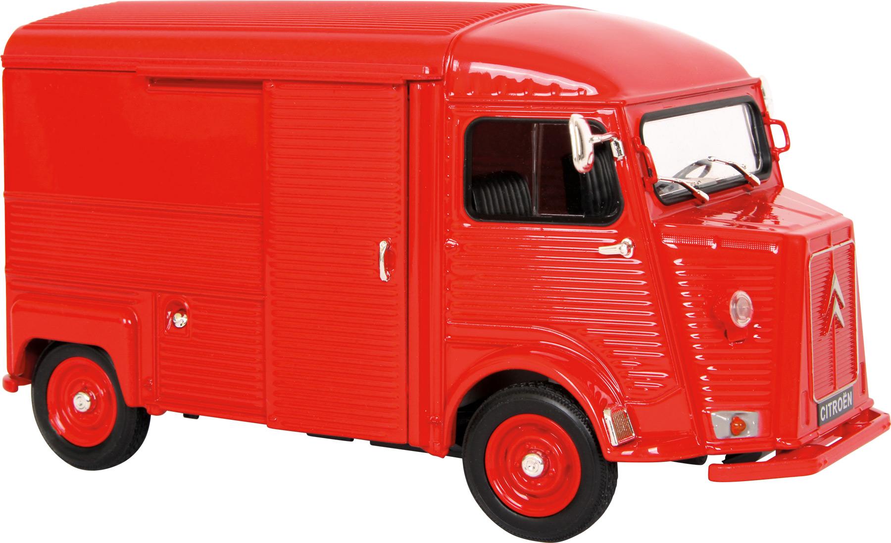 Small Foot Auto Citroen typ H model 1:24 červené