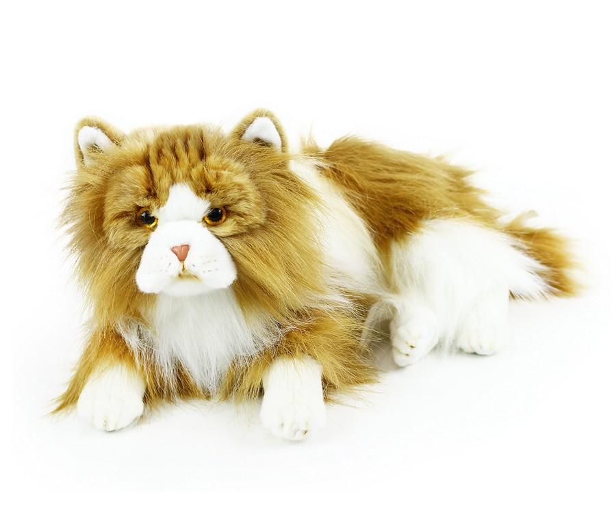 Rappa Plyšová kočka perská dvojbarevná 25 cm